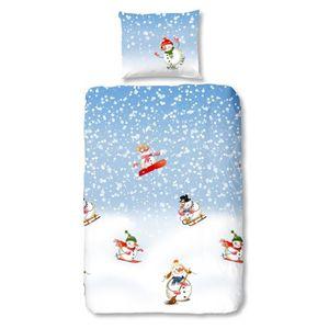 PARURE DE COUETTE GOOD MORNING  Parure de couette Snowfall style sca