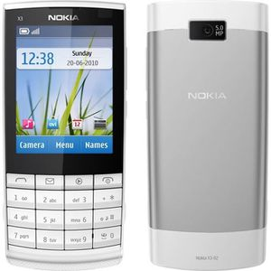 Téléphone portable NOKIA X3-02 TOUCH AND TYPE BLANC DEBLOQUE