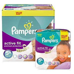 COUCHE Maxi Pack 288 Couches Pampers Active Fit - Premium