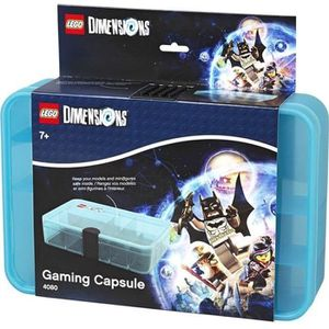PETIT RANGEMENT  LEGO DIMENSIONS Boite - 4080000 - Empilable - Bleu