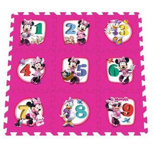 TABLE JOUET D'ACTIVITÉ MINNIE Tapis Bébé Puzzle Mousse Marelle 9pcs Avec