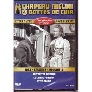 DVD SÉRIE Chapeau melon et bottes de cuir -S2 V5 -1962 -1 DV