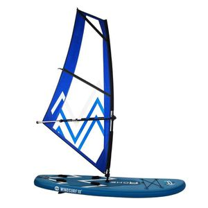 STAND UP PADDLE ROHE Pack Paddle Gonflable Windsurf avec Kit Planc