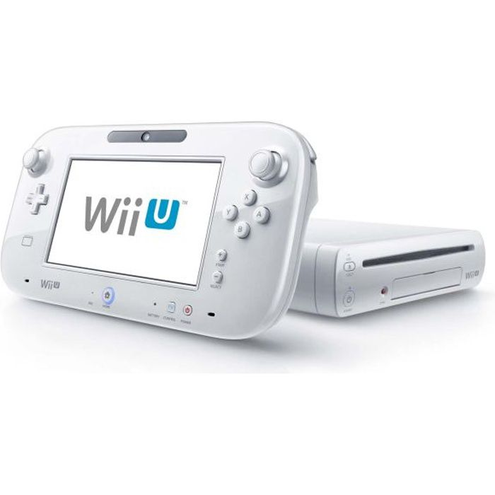 console wii u basic pack blanc achat vente console wii. Black Bedroom Furniture Sets. Home Design Ideas