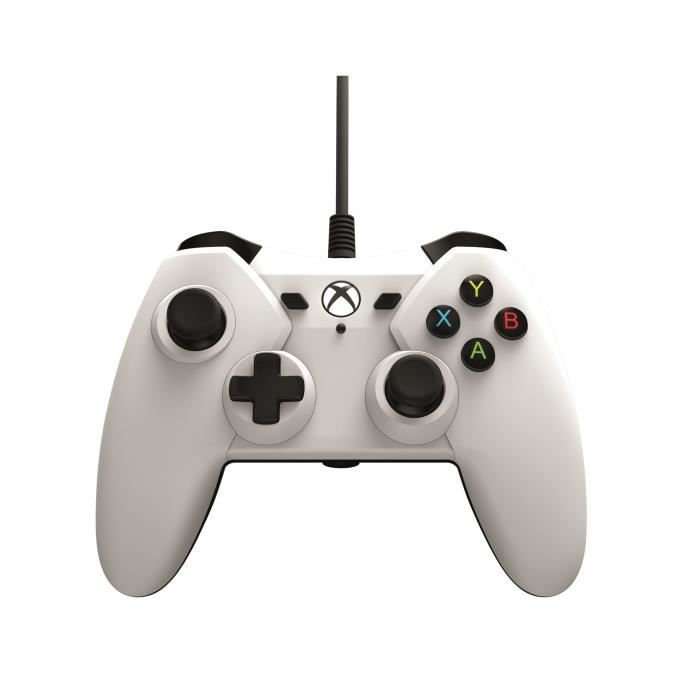 POWER A Manette - Filaire - Blanc - Xbox One