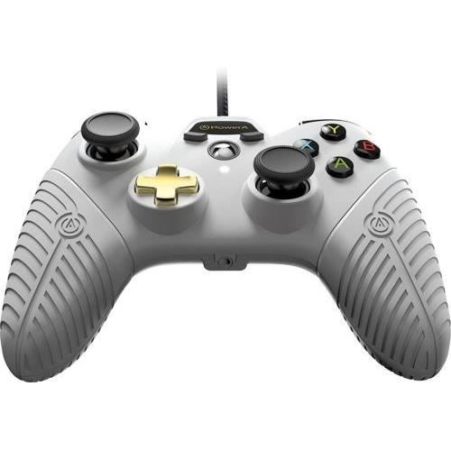 POWER A Manette FUSION 2.0 - Filaire - Blanc - Xbox One
