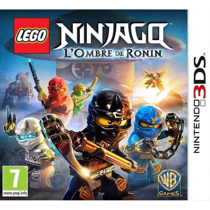 Lego Ninjago L Ombre De Ronin Jeu 3ds Achat Vente Jeu 3ds Lego L Ombre De Ronin 3ds Cdiscount