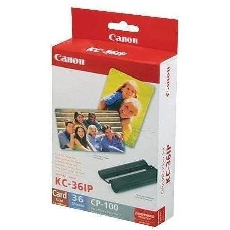 CANON kit encre+papier KC-36IP - format carte de crédit - 36 tirages
