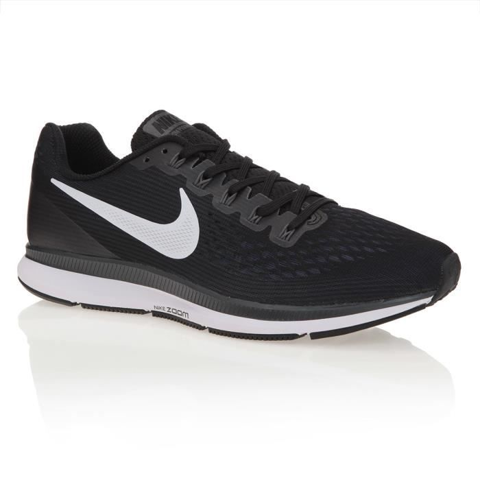 Nike Zoom Pegasus 34 Gris - Chaussures Baskets basses Homme