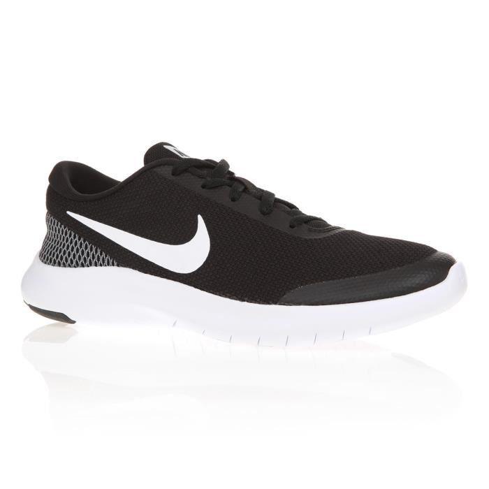 NIKE Chaussures Flex Expérience Run 7 - Femme - Couleur : Noir et BlancCHAUSSURES DE RUNNING - CHAUSSURES D'ATHLETISME