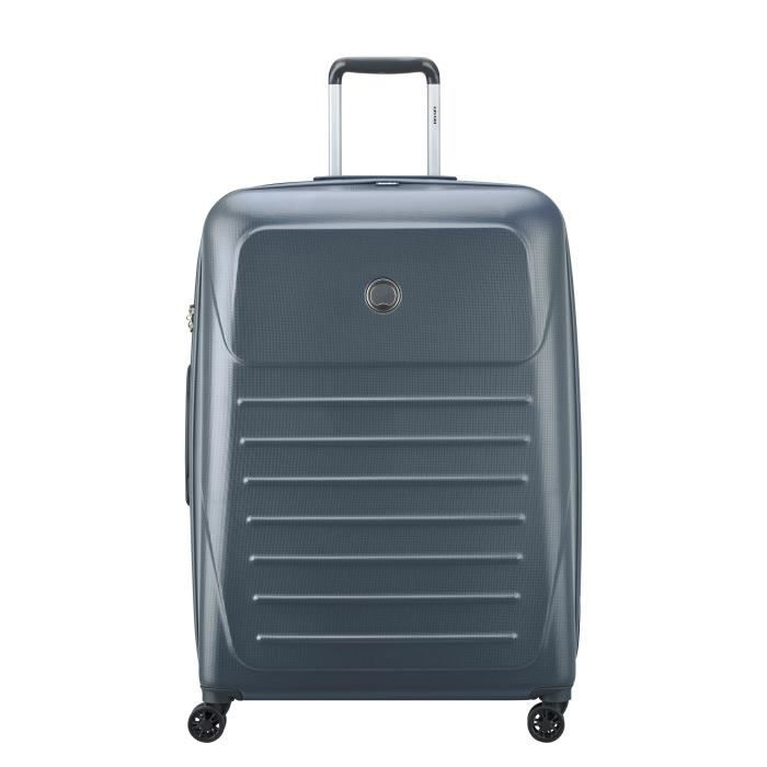 VISA DELSEY Valise Trolley Munia - 76 cm - 4 Roues - Anthracite
