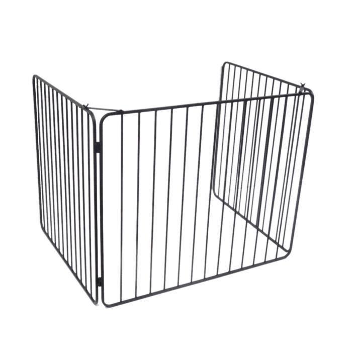 DELTA Barrière de protection Vulcain en acier noir