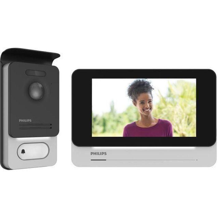 PHILIPS Visiophone 2 fils écran tactile ultra plat couleur 7