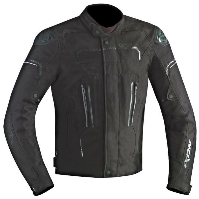 IXON Blouson Moto Tissu Exhale HP Noir