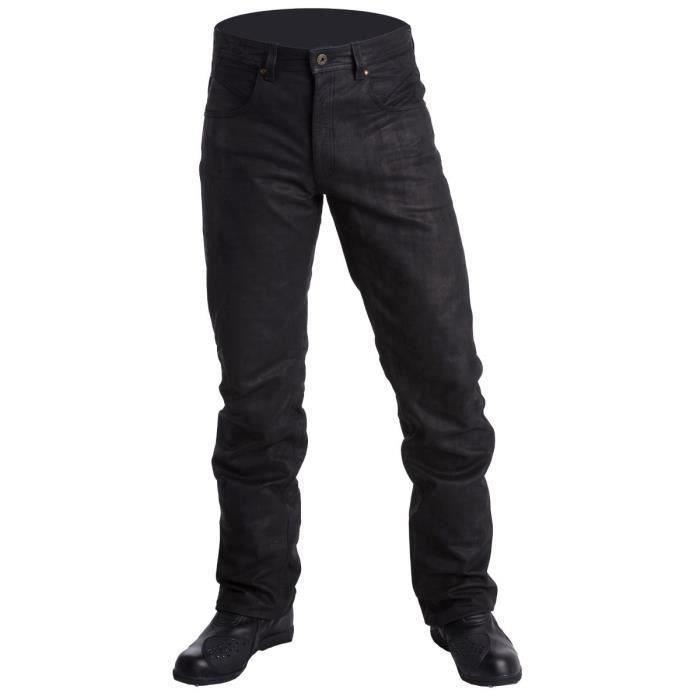 Pantalon cuir Jean Roxy Buff Stone