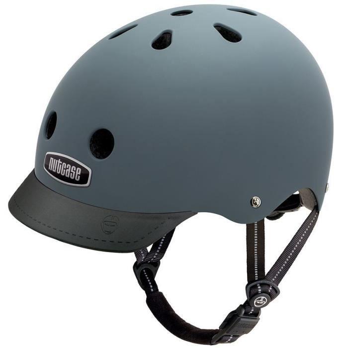 NUTCASE Casque de vélo Supersolide - Gris