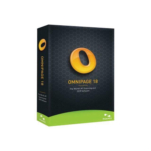 OmniPage® 18 est le moyen le plus rapide et précis pour convertir documents papier, fichiers PDF ...LOGICIEL BUREAUTIQUE