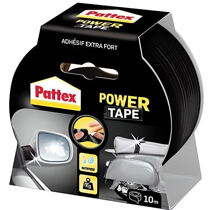 Adhésif super puissant Power tape Pattex Noir L10m