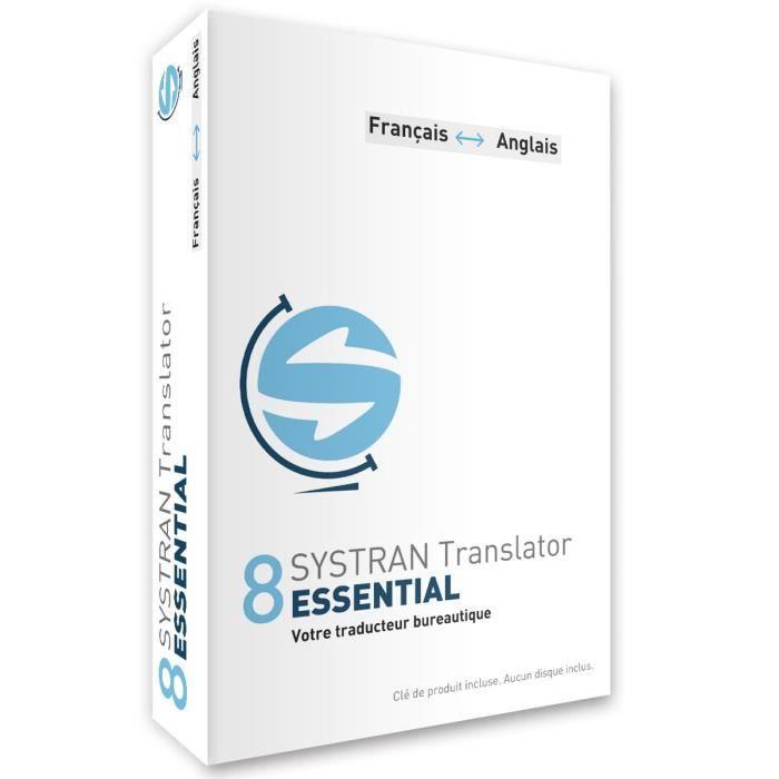 Systran 8 Translator Essential bénéficie de leur qualité linguistique et s'appuie sur un dictionnaire enrichissable. Il s'intègre directement à Microsoft Word, Excel, PowerPoint, Internet Explorer 11, Firefox et Google Chrome. Français < - > AnglaisLOGICI