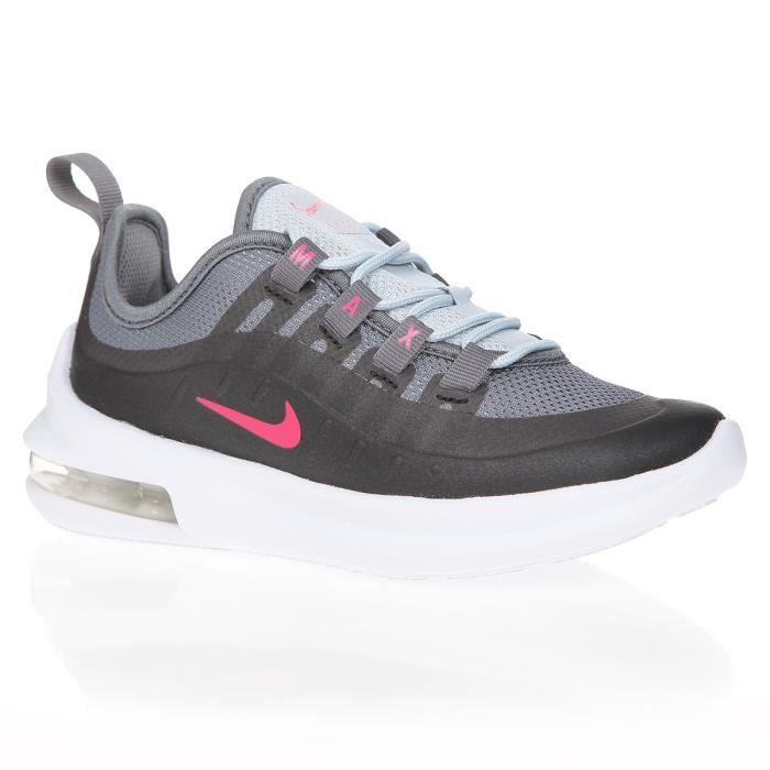 NIKE AIR MAX Axis Baskets Junior Filles Noir Chaussure Rose Chaussures