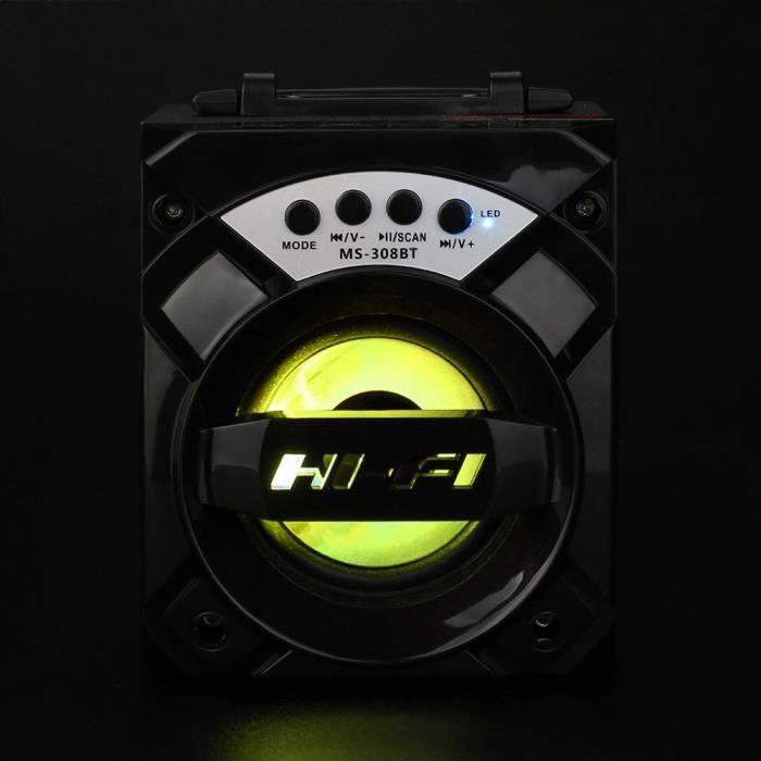 Led Sans Fil Bluetooth Portable Sport-président Super Basswith Radio Usb - Tf Aux Fm _cxx402
