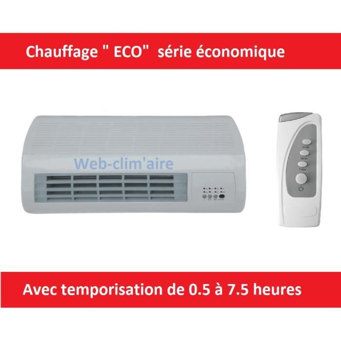 Radiateur Electrique Soufflant 1000 2000 W Achat Vente