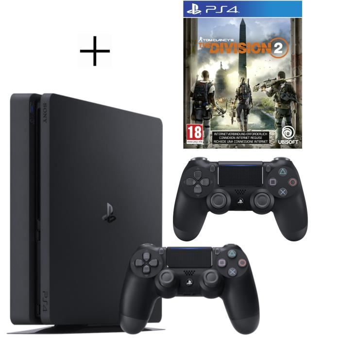 CONSOLE PS4 Pack Playstation : PS4 500Go + Manette PS4 + Vouch