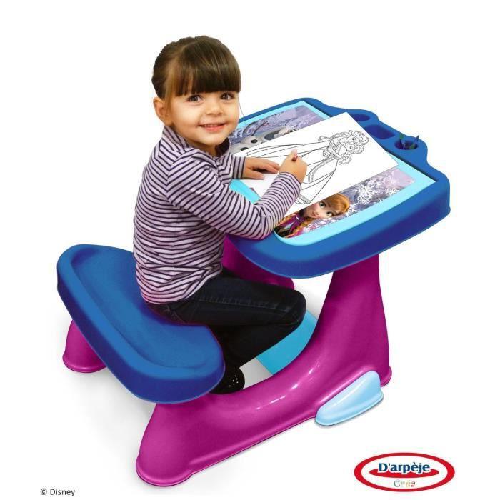 bureau enfant reine des neiges achat vente jeux et jouets pas chers. Black Bedroom Furniture Sets. Home Design Ideas