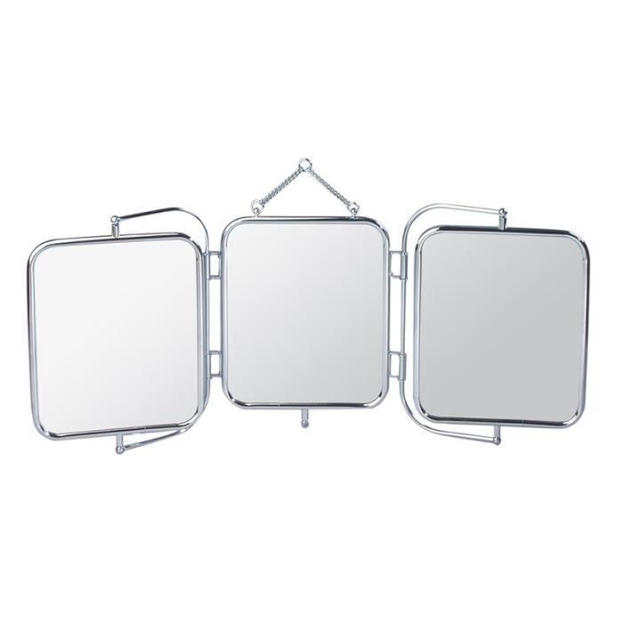 GERSON Miroir triptyque à suspendre - 69 x 9 cm - Achat / Vente ...