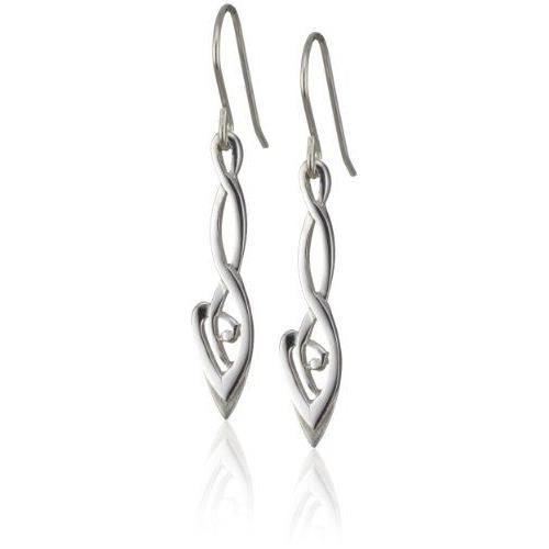 . Heritage.6232-. Boucles doreilles pendantes. Femme. Argent.…