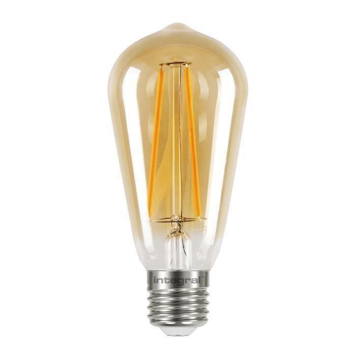 À Ampoule E27 Équivalent 5 W 40 St64 2 Décorative Led Integral 6gyY7fb
