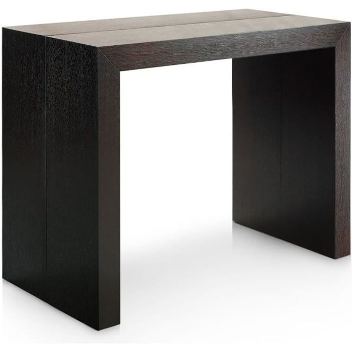 table console extensible wenge achat vente table. Black Bedroom Furniture Sets. Home Design Ideas