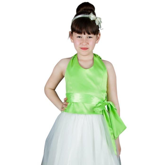 57017600223e7 Bustier pour demoiselle d honneur fille - Vert anis - 16 ans Vert ...