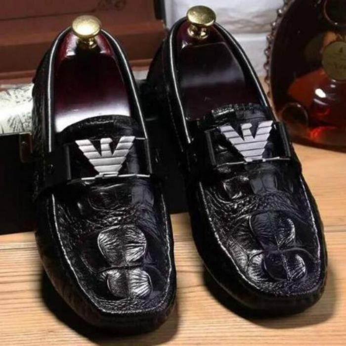 Chaussures Pois d'été casual hommes des hommes italiens