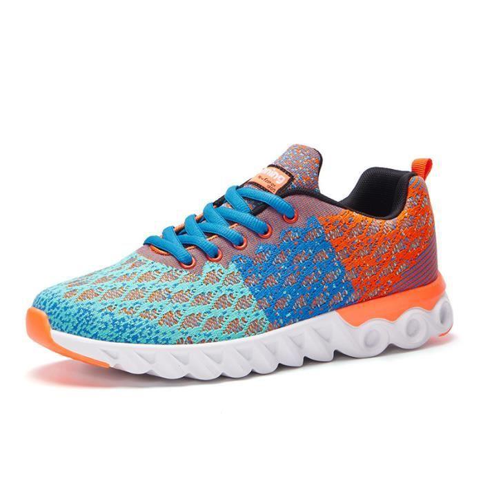 Chaussures de sport pour hommes Chaussures de course en maille respirante J6swviSw5
