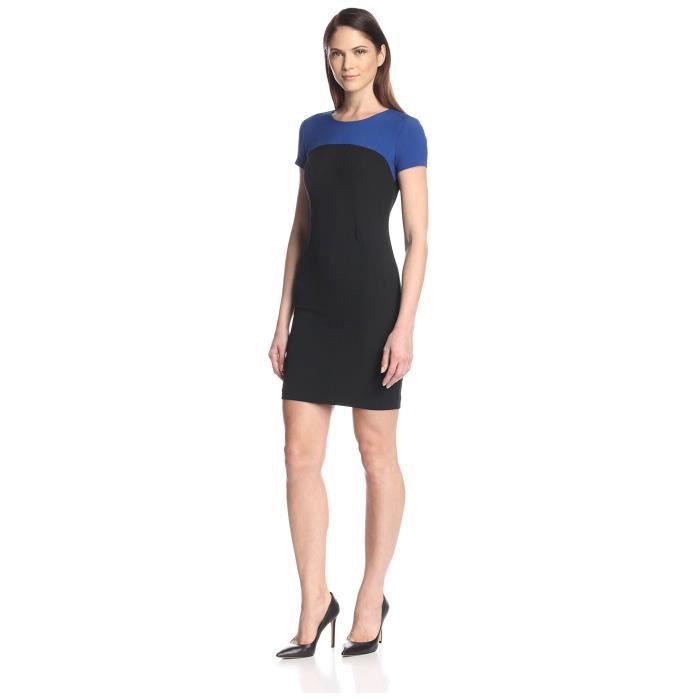 Craze womens manches longues élégante dentelle florale dos bretelles robe de robe de soirée slim fit ZQDD1