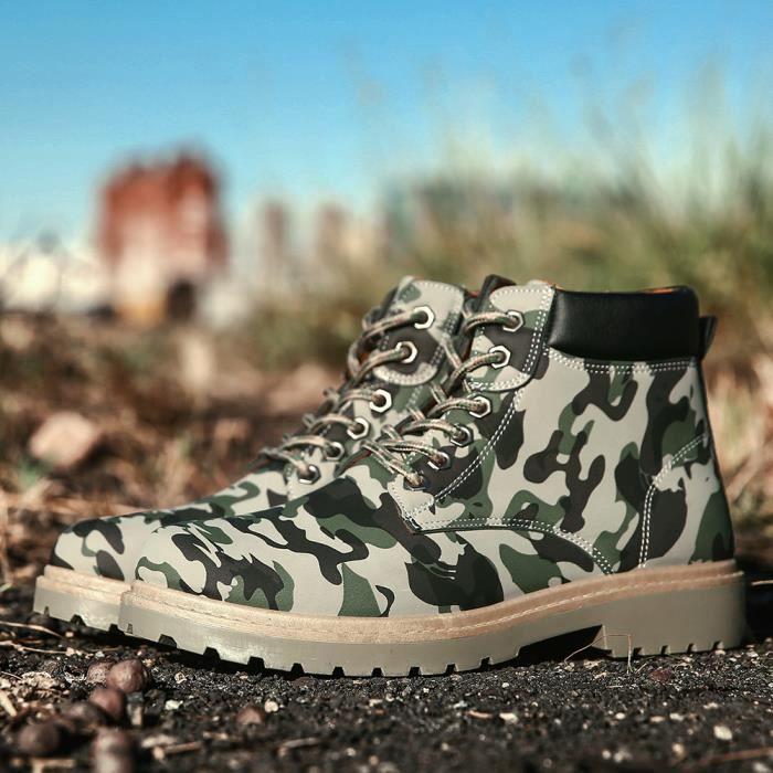 Bottine Homme Poids Léger Nouvelle Meilleure Qualité Mode Chaussures Confortable Chaussures AntidéRapant 39-44 DBkuCC9fp