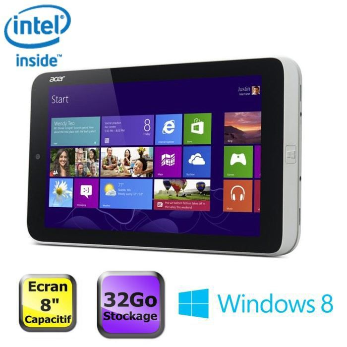 TABLETTE TACTILE Acer Iconia  W3-810 32Go