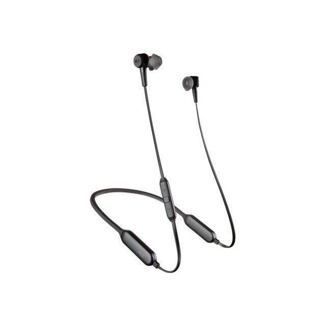 Plantronics Backbeat Go 410 Écouteurs Avec Micro Embout Auriculaire Bluetooth Sans Fil Suppresseur De Bruit Actif Graphite