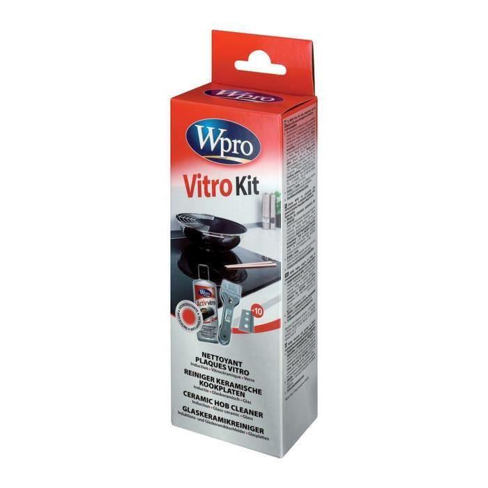 WPRO KIT NETTOYANT VITROCERAMIQUE ET INDUCTION - Achat / Vente ...