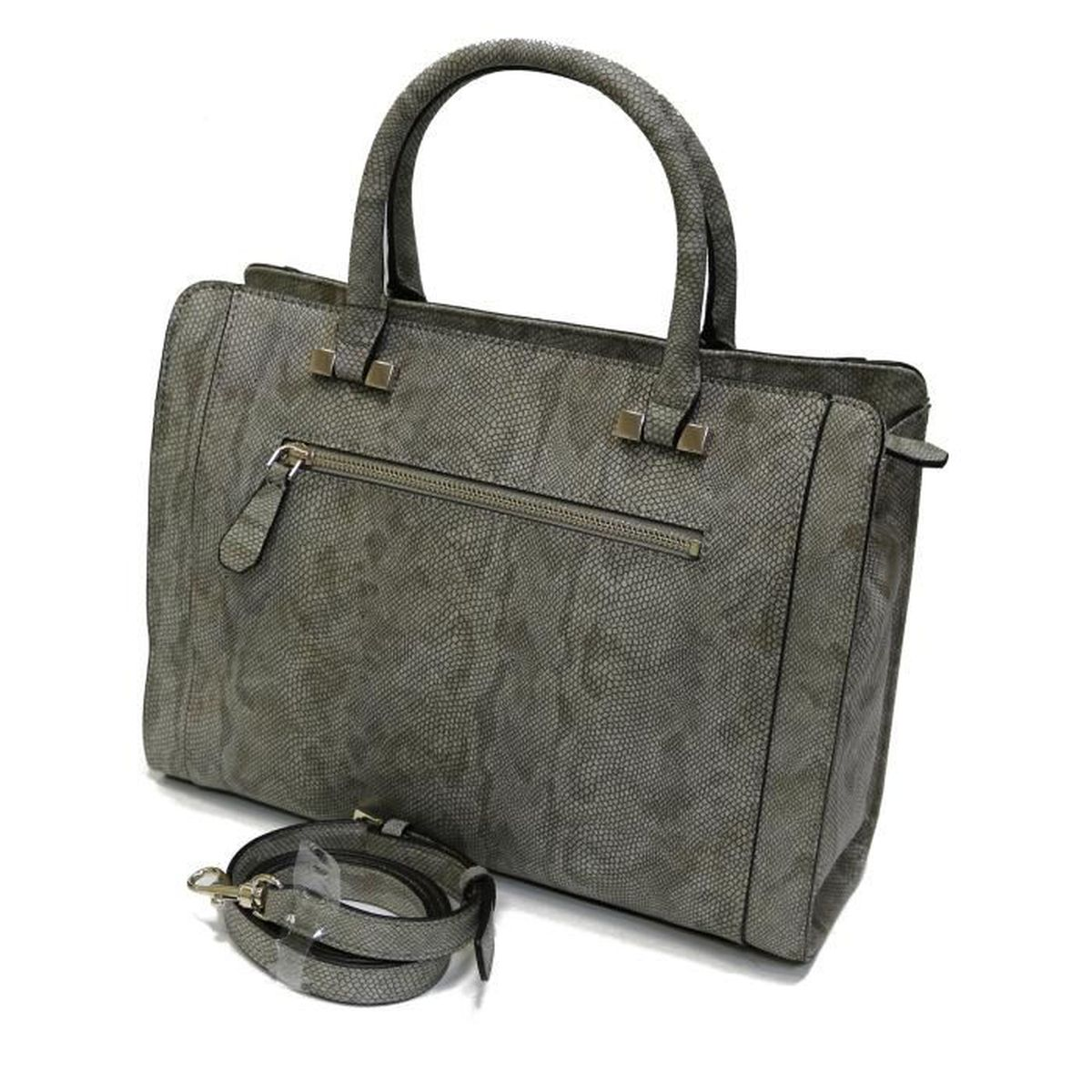 Vente Cabas Achat Kingsley Python Taupe Guess Sac 8ywnPN0vmO