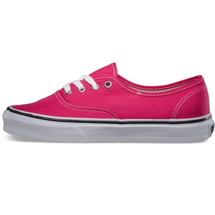 Vans Authentic Red True White Basket Basse Toile Femme Pointure 36,5
