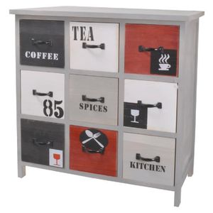 Meuble style industriel achat vente meuble style for Meuble de rangement cuisine