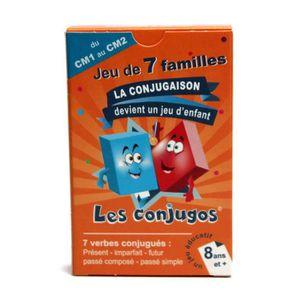 LES CONJUGOS Jeu de 7 familles CE1/CE2