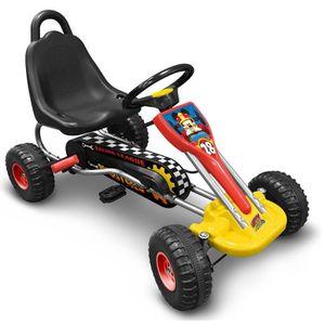 MICKEY Go Kart enfant ? Pédales 89 x 52cm