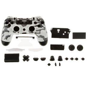 PACK ACCESSOIRE PACK  Gris Noir Complet Shell Mod Remplacement Kit