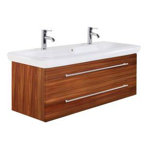 Meuble salle de bain 130cm - Achat / Vente pas cher