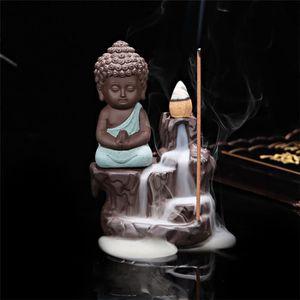 PORTE-ENCENS Céramique Encens Brûleur Bouddhisme Eglise Moine D