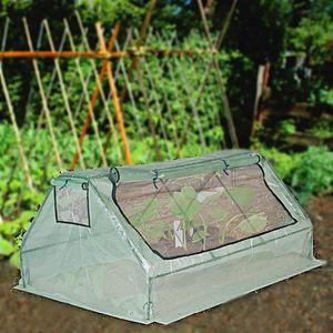 SERRE DE JARDINAGE Serre de jardin 180 cm pour plantes et tomates