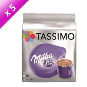 CAFÉ - CHICORÉE TASSIMO Milka - 5x 8 dosettes